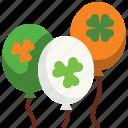 balloon, celebration, decoration, event, parade, party, saint patrick icon