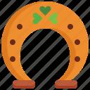 decoration, good luck, horseshoe, luck, lucky, parade, saint patrick icon