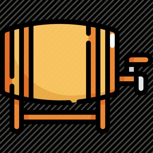 alcohol, barrel, beer, beverage, oil icon