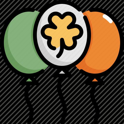 balloon, celebration, irish, party, patrick, saint patricks day icon