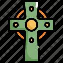 catholic, celebration, christian, cross, patrick, religion, saint patricks day