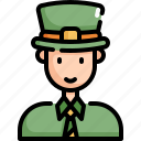 avatar, celebration, man, patrick, saint patricks day icon
