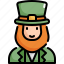 celebration, decoration, leprechaun, party, patrick, saint patricks day icon