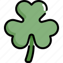 celebration, clover, leaf, patrick, saint patricks day, shamrock icon
