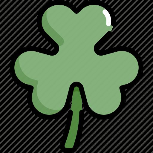 celebration, clover, leaf, patrick, saint patricks day, shamrock icon