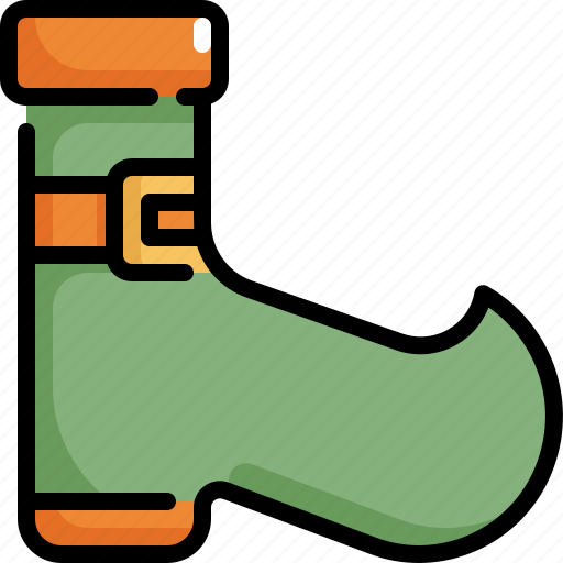 boots, celebration, decoration, party, patrick, saint patricks day, shoes icon