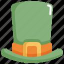 celebration, fashion, hat, patrick, saint patricks day icon