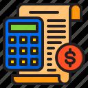 accounting, bill, calculator, ecommerce, shopping