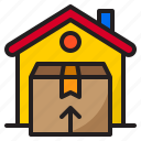 box, delivery, ecommerce, home, shopping