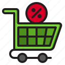 cart, discount, label, price, shopping