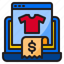 bill, ecommerce, payment, reciept, shopping icon
