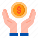 ecommerce, hand, money, shop, shopping