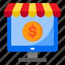 computer, ecommerce, online, shop, shopping