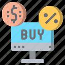 button, buy, online, shop icon