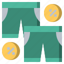 clothes, fashion, garment, pants, shorts, sport, trousers icon