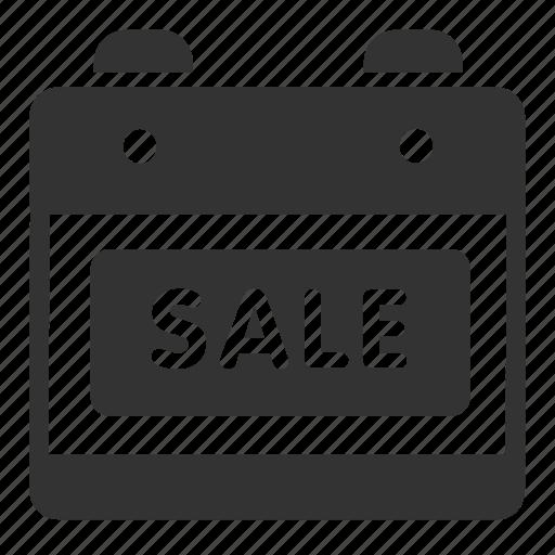 calendar, date, online, sales, shop icon