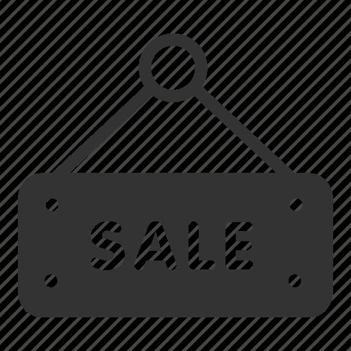 board, online, sale, sales, shop, sign icon