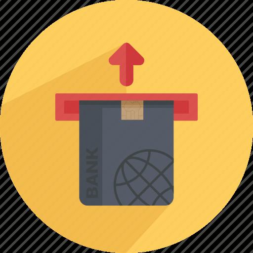 atm, card, credit, debit, mfm, money machine, pay icon