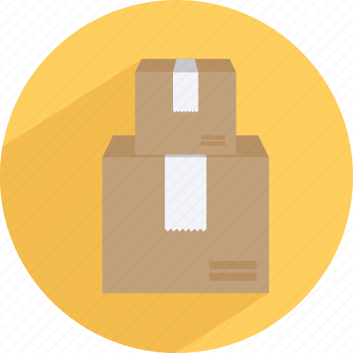 box, carton, container, delivery, package, transport icon