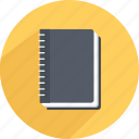 agenda, conference, mastermind, meeting, notebook, notes icon