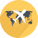 airplane, delivery, shopping, speed delivery, traveling, world icon