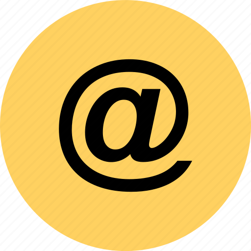 At, email, lcontact, sign icon - Download on Iconfinder