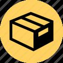 box, ecommerce, ship, web