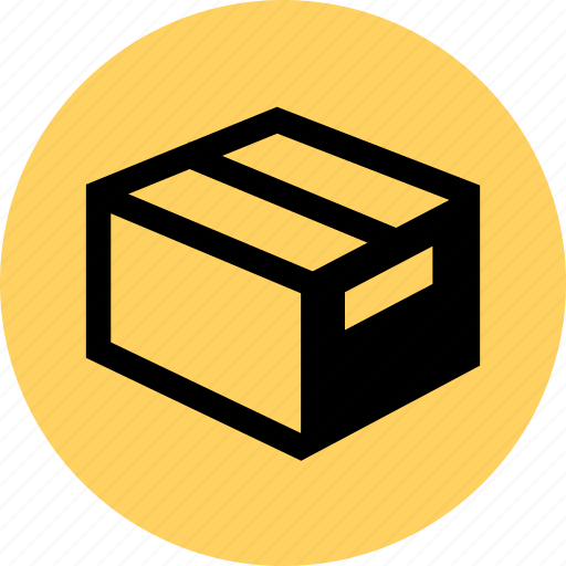box, ecommerce, ship, web icon