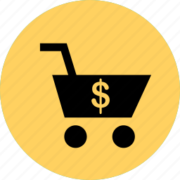 add, cart, dollar, money, sign, to icon