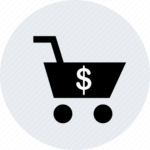 cart, dollar, sales, shopping, sign icon