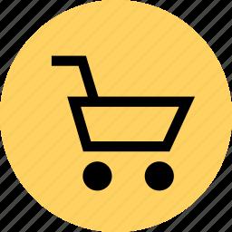 cart, ecommerce, shop, shopping, web icon