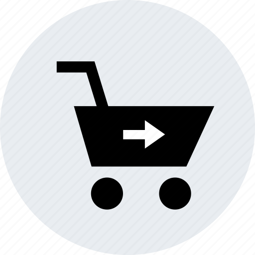check, forward, go, merchandise, next, online, out icon