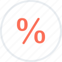 interest, rate, sales, saving, shopping icon