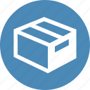 box, event, online, sale, shipping icon