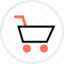 add, cart, go, now, shopping icon