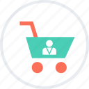cart, go, sales, shopping icon