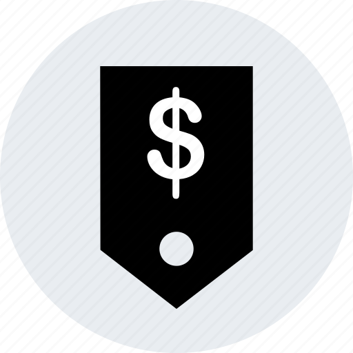 dollar, money, sales, shopping, sign, tag icon