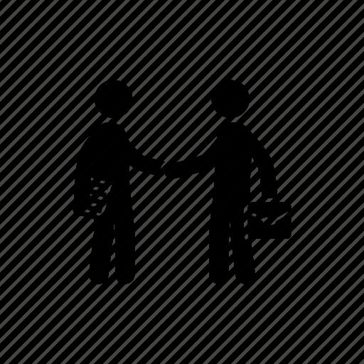 cooperation, handshake, partnership icon