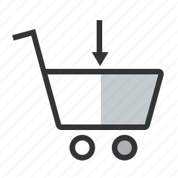 add to cart, buy, cart, input, items, purchase, put, shopping icon