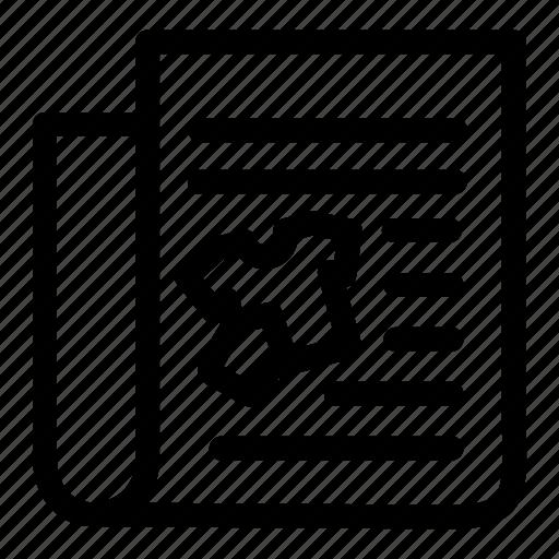 advertising, marketing, newspaper, sale, sales icon