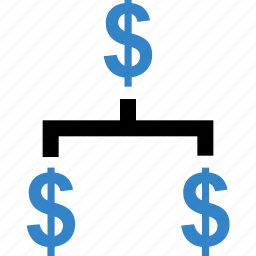 business, dollar, signs, strategy icon
