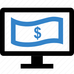 dollar, money, payment, sign icon