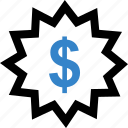 dollar, guardar, save, savings, sign icon