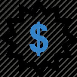dollar, save, savings, sign icon
