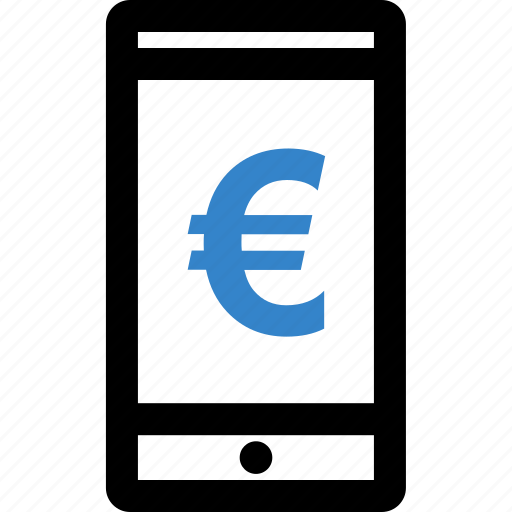 Call, euro, money, online, sign, wealth icon - Download on Iconfinder