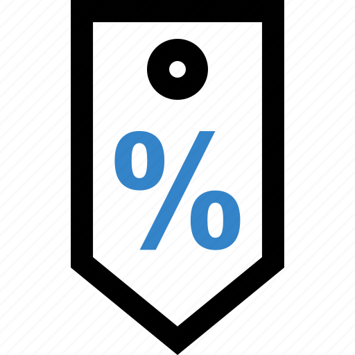 interest, money, percent, rate icon