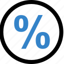 interest, math, percentage, rate icon