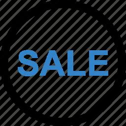 online, sale, store, web icon