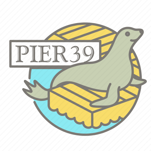 america, pier 39, san francisco, seal, tourist icon