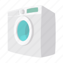 cartoon, clean, clothes, clothing, housework, machine, washer icon
